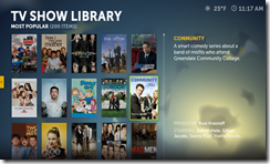 Boxee TV LIbrary